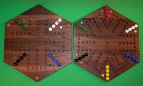 Beautiful Wooden Marble Aggravation Game Board Wooden Marble Game Board 100Sided Aggravation 100Player 100Player 100 Hex 49