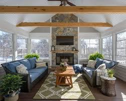 Contemporary Sunroom Furniture Sunroom Indoor Plant Ideas 15 Trendy And Stylish Inspirations