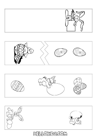 Bookmark Coloring Pages How To Craft Easter Bookmarks Coloring Page Hellokids Com