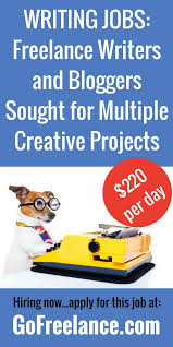best lance writing jobs images lance   lance writers and bloggers sought for multiple projects