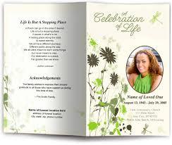funeral flyer funeral flyer template 17 funeral program templates free premium