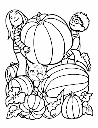 Small Picture Printable Pages Pumpkin Pumpkin Coloring Coloring Page Free