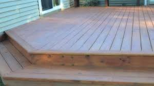 building a ground level deck building a ground level deck attached to house building a ground building a ground level deck