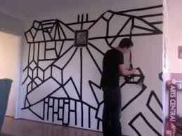 Duct Tape Wall