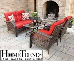 home trends outdoor furniture. used hometrends tuscany patio set 4pc wicker red patio furniture outdoor conversation sets u0026 garden city of toronto kijiji home trends r