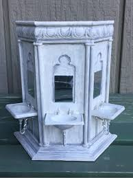diy harry potter hogwarts moaning myrtle bathroom sink basin in miniature scale
