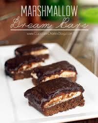 marshmallow dream bars cupcake diaries