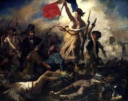eug xe8 ne delacroix liberty leading the people oil on