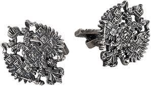 Серебряные <b>запонки KU&KU 1543750A-7</b> — купить в интернет ...