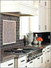 Tile Backsplashes With Granite Countertops Best Black Granite Backsplash Medium Tile White Cabinets Black Granite