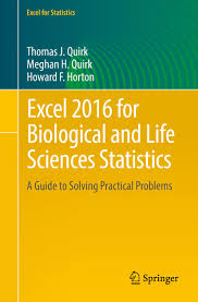 excel for biological and life sciences statistics a guide to excel 2016 for biological and life sciences statistics a guide to solving practical problems