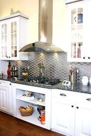 metal kitchen backsplash metal kitchen home