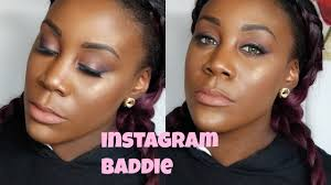 beat my face insram bad makeup look on dark skin miss sydz you