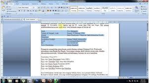 Tutorial Cara Membuat Surat Lamaran Kerja Pada Aplikasi Microsoft