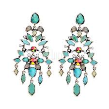 geometric chandelier earrings home decoration accessories uk