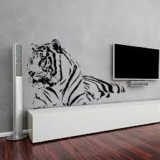 tiger wall decals decal vinyl sticker nursery bedroom by cozydecal
