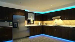 kitchen mood lighting. Led Kitchen Mood Lighting 4 Area Ideas For Creating The Ultimate And Brown Dining Table I