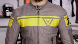 dainese blackjack leather jacket review at revzilla com