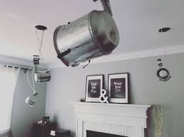 Replace Ceiling Fan With Recessed Light Because Drilling A Bunch Of Holes In The Ceiling Isnt