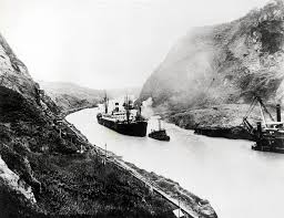 how the canal helped make the u s a world power newshour the ss ancon the first ship to pass through the canal on 15