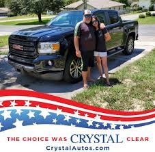 Congratulations To Trisha And Wade On Crystal Chevrolet Facebook