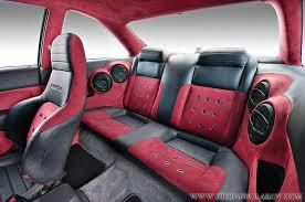 honda civic with custom interior car