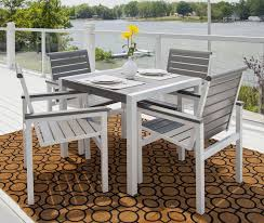unique small patio dining set swivel chair patio dining sets metamorf design