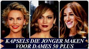 Haar Modellen Vrouw Kapsels Die Jonger Maken Voor Dames 50 Plus