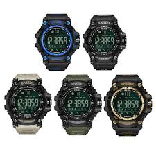 <b>SMAEL</b> 1617B Bluetooth Smart <b>Watch Digital</b> Sport Male Clock Men ...