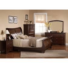 dark bedroom furniture. Georgetown Dark Bedroom - Bed, Dresser \u0026 Mirror King 48069 Furniture R