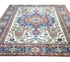 red and blue oriental rug blue oriental rug x unique tribal designed blue red cream oriental