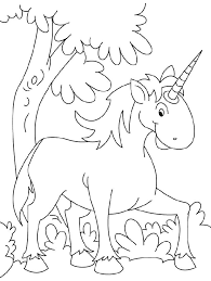 Unicorn Picture To Color Unicorn Color Pages For Kids Loving