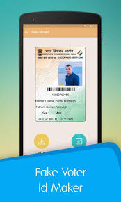 For Maker Apk Id Fake Card Free Photography Download Voter App txfzAqa