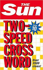 the sun two sd crossword book 10 bk 10 bk 10 amazon de the sun fremdsprachige bücher