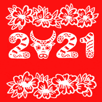 Blessings red pockets/year of ox/lunar new year/chinese new year/cow/new year/money/custom made/gift/gift card/zodiacs/red envelope/handmade. Lunar New Year Gifs Get The Best Gif On Giphy