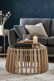 ribbed coffee table from the