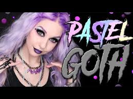 pastel goth makeup tutorial 2017 you