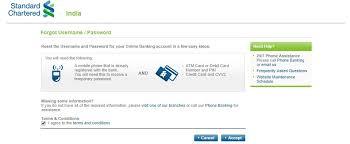 pword of standard chartered bank