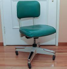 vintage metal office chair. vintage royal metal corporation office chair