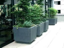 large concrete planters for concrete flower planters planter boxes square co on modern concrete planters