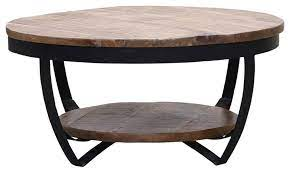 2 tier round coffee table