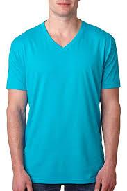 Next Level Premium Cvc V Neck T Shirt