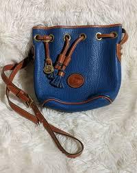 vintage dooney bourke leather handbag