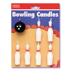 Bowling Pin Cake Decorations Bowling Party Bowling Pins Ball Candles Cake Decorations 13