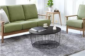 Shop coffee tables at interiors online. Black Round Coffee Table Kogan Com