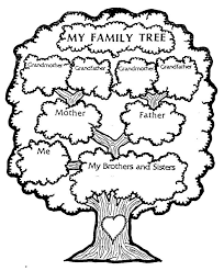 Family Tree Templates Kids Family Tree Printable Good For A Home School Lesson C D Family