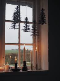 Window Decoration Christmas Window Decorations Ideas Scandinavian Style