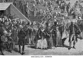 french revolution black and white stock photos images alamy women led by stanislas marie maillard during french revolution stock image