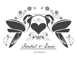 Isa Y Enoc Monogram Nuestra Boda Pinterest