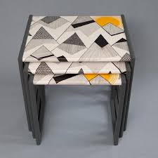 painted table ideasThe 25 best Nesting tables ideas on Pinterest  Painted nesting